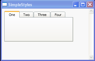wpf tabcontrol template - tab page headers tabcontrol windows presentation