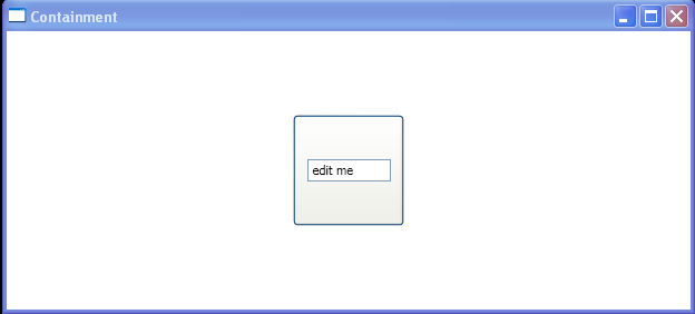 TextBox as Button Content