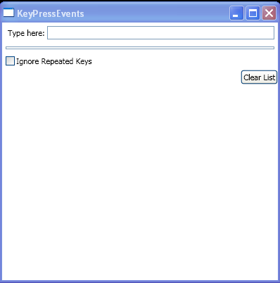 TextBox PreviewKeyDown, PreviewKeyUp, PreviewTextInput, KeyDown, KeyUp and TextChanged events