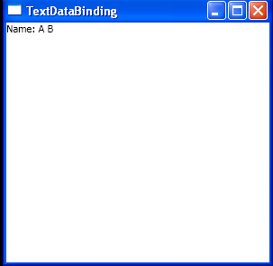 Text Data Binding