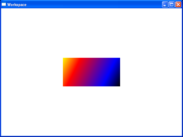 This rectangle is painted with a diagonal linear gradient