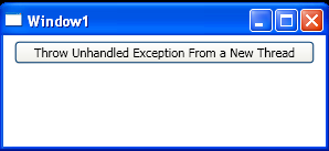 Throw Unhandled Exception From Thread
