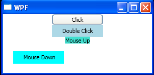 UI Element Mouse Clicked Events