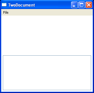 Use TextBox.CommandBindingst to bind command