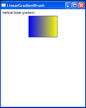 Vertical linear gradient