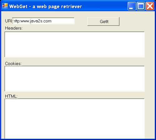 Web Get