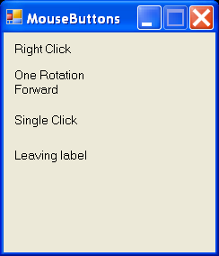 Mouse Buttons Click