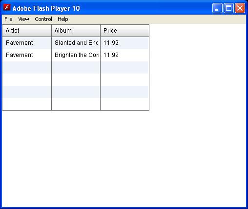 Edit Event Formatter