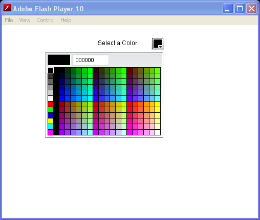 GridItem Label, ColorPicker
