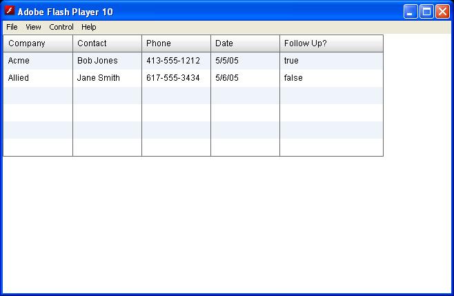 Inline DataGrid CheckBox Editor