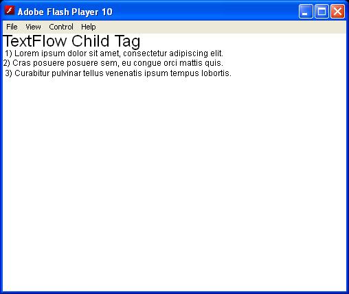 TextFlow Namespace