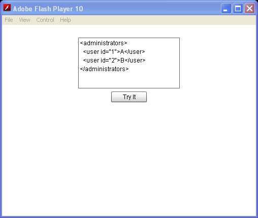 Using XMLList