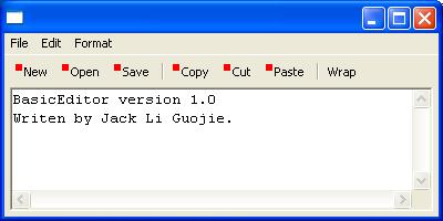 Basic Editor