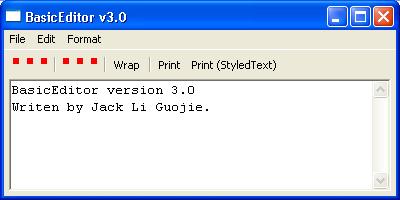 Basic Editor 3