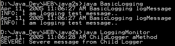 Java Log:Basic Logging