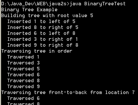 Binary tree tree collections data structure java binary tree ccuart Gallery