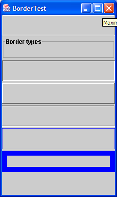 How to create the border