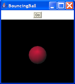 Animation and Interaction - a Bouncing Ball