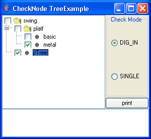 Checkbox Node Tree Example