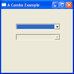 Combo (ComboBox) Example 2