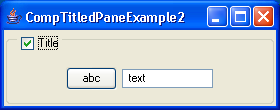 Component TitledPane Example 2