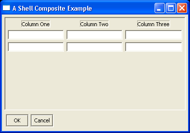 Complex Shell Example