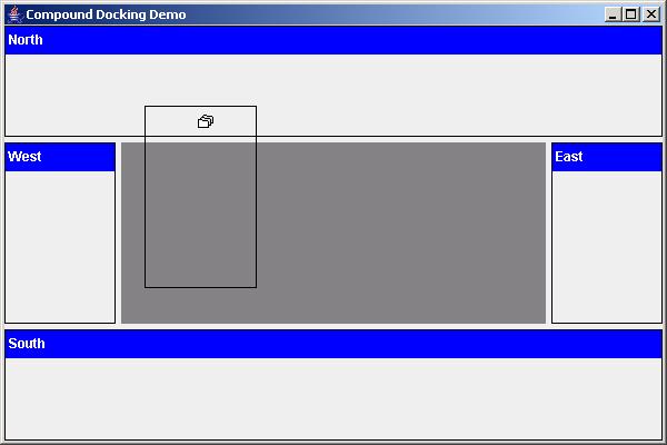 Compound dockable window