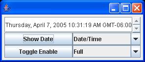 Swing: Date Time Editor