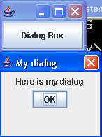 Creating and using Dialog Boxes