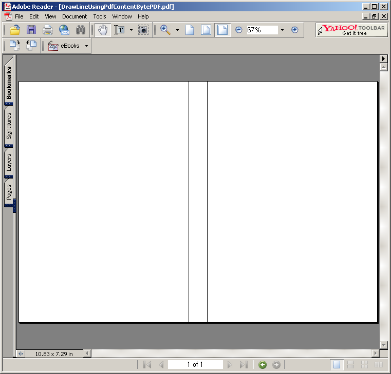 Line Drawing Java : Drawing lines using pdfcontentbyte line « pdf rtf java