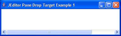 Editor Drop Target