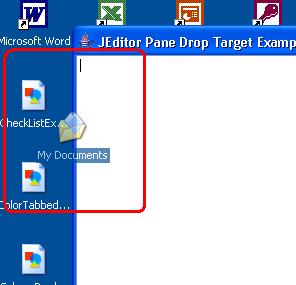 Editor Drop Target 2
