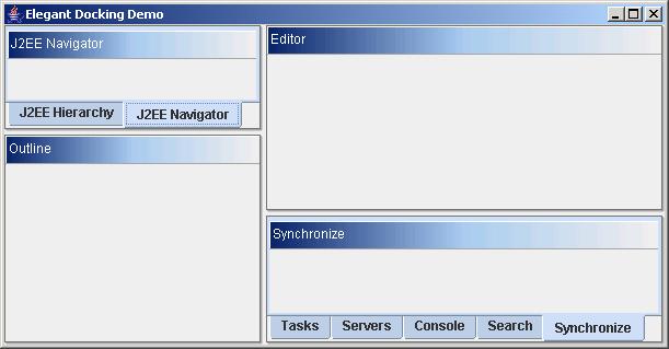Elegant Dockable framework