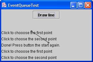 Use the Event queue to retrieve event