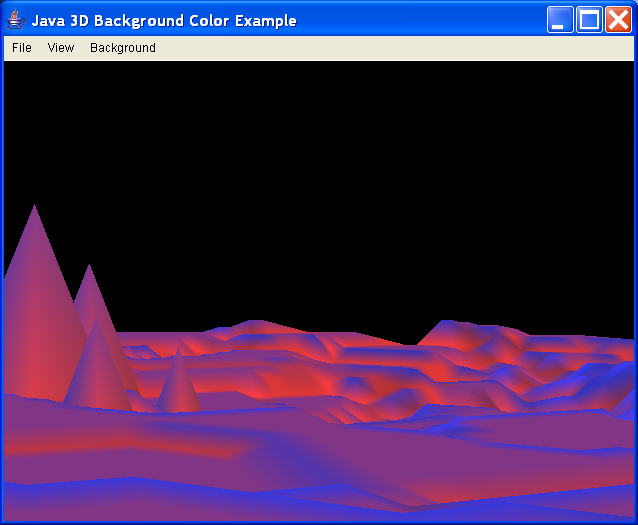 ExBackgroundColor - illustrate use of colored Backgrounds