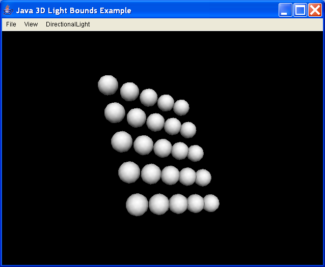 Illustrate use of light influencing bounds, and bounding leaves