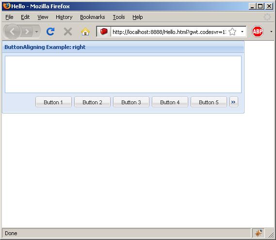 Display Info popup alert (Ext GWT)