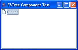 A sample component for dragging and dropping a collection of files into a tree.
