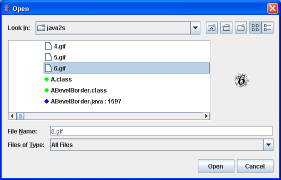 File Chooser Demo 2