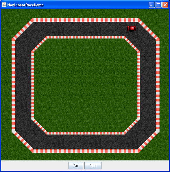 NonLinear Race Demo