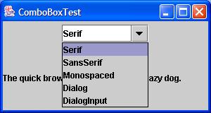 Font Chooser ComboBox