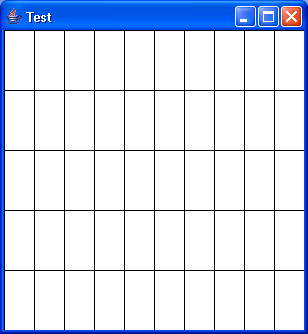 Program to draw grids