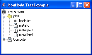 Icon Node Tree Example