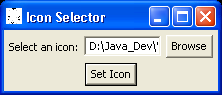 Icon Selector