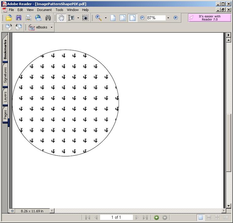 Image Pattern: Shape