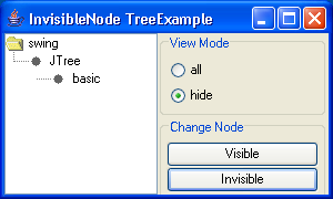 Invisible Node Tree Example