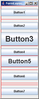 FormLayout: Button Stack Builder Example 1