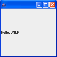 Web start and JNLP demo
