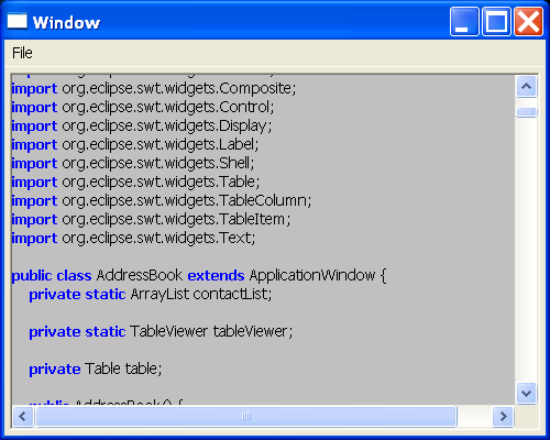Java Source code Viewer