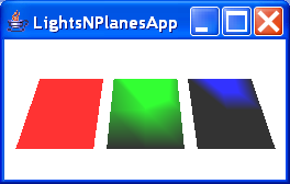 Lighting Plane